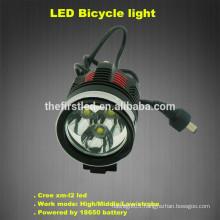 Jexree 1800 Lumen 6400mah 3xCREE XM-L2 LED Bike Bicycle light