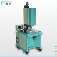 Máquina de fusión de posicionamiento giratorio de plástico