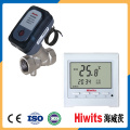 Hiwits 12V Electric Control Two-Way Ceramics Thermostatic Valve