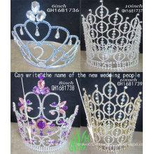 La venta al por mayor y la corona del calor produjeron domésticamente todas las clases de tiaraity de la alta calidad