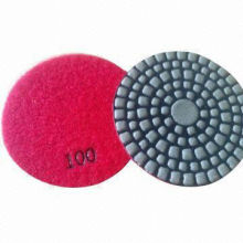 dry polishing pad for granite,marble,concrete floor