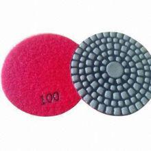 Сухая полировальная подушка для гранита, мрамора, бетонного пола