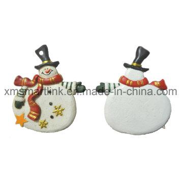 Regali di decorazione della statuetta del pupazzo di neve