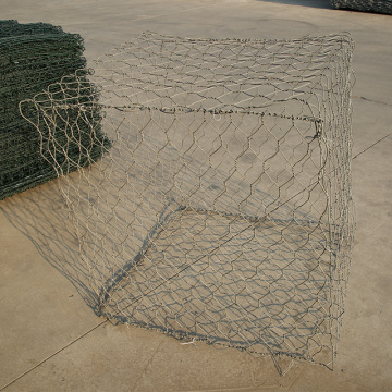 Gabion en maille hexagonale à double torsion