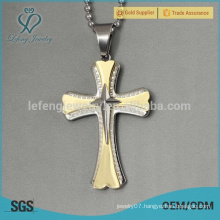 Wholesale stainless steel jewelry pendant, gold chain pendant jewelry