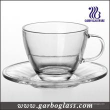 Ensemble de théière en verre et de soucoupe (TZ-GB09D5108)