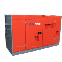 Unite Power 20kw Soundproof Isuzu Diesel Generator Set