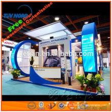 construcción de exposición y sistema de stand, contratista de stand de exposición