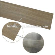 Planches de plancher de PVC de surface de relief sec de dos