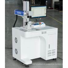 Machine laser CNC de gravure de métal de laser de fibre