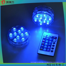 Decoration Multicolor Remote Controlled LED Submersible Lights