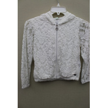 100%POLYESTER LACE GIRL`S JACKET