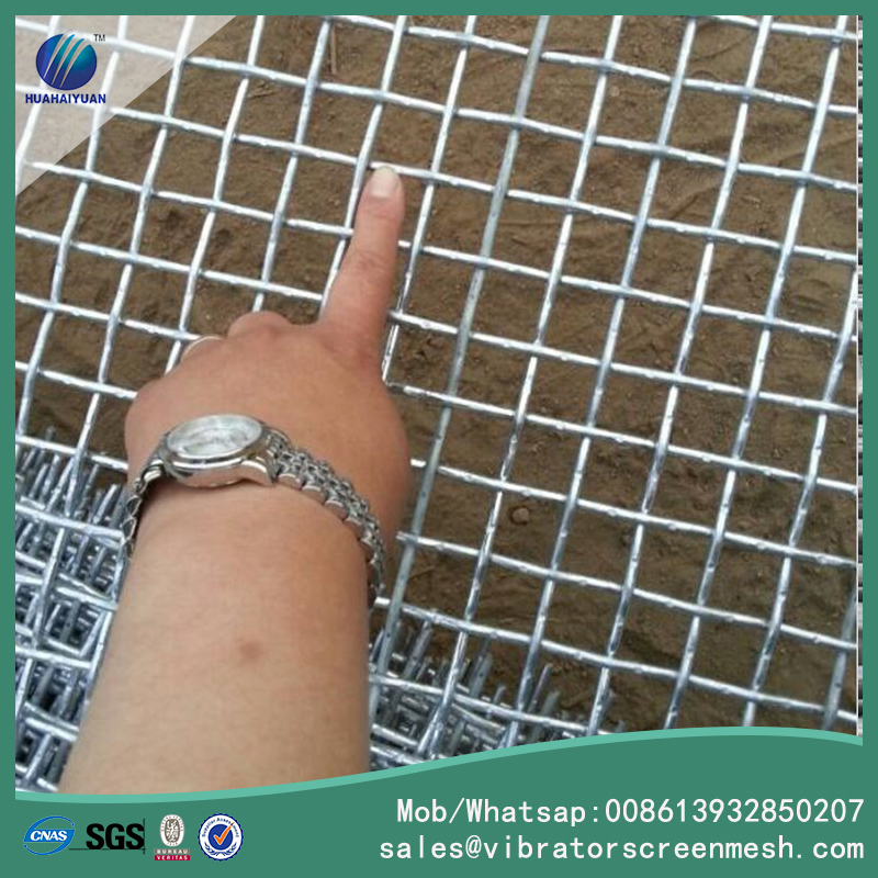 Galvanized Flat Top Woven Wire Cloths