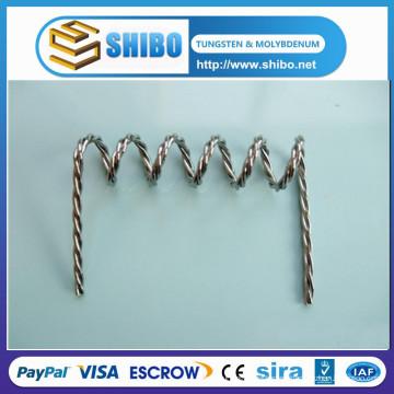 Trenza de tungsteno torsionado Precio de cableado