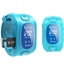 Smart Anti-Lost Watch Phone GPS for Kids with GPS/Bluetooth/Sleepping Monitor/Pedometer (WT50-KW)