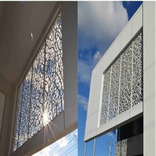 Decorative Metal Window Coverings and Screens