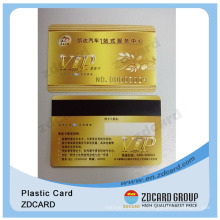 T5577 Plastic Card/PVC Plastic Loyalty Cards/PVC Plastic Business VIP Card