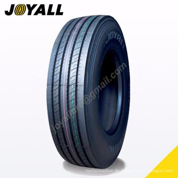 JOYALL Chinesische Fabrik TBR Reifen A876 Super Überlast und Abriebfestigkeit 295 / 75r22.5 für Ihren LKW