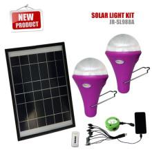 Новейшие продукты 2015 CE солнечное освещение для дома для освещения дома с 2 светодиодами