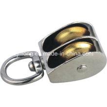 Polea giratoria y polea de aleación de zinc