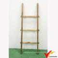 Rústico, vindima, decorativo, madeira, cobertor, escada