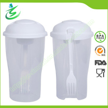 Kundenspezifischer Salat Shaker Cup mit BPA Free Material