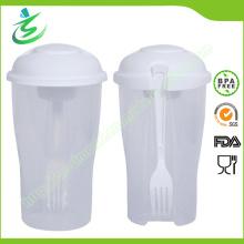 Coupe Shaker de salade personnalisée avec du matériel sans BPA