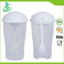 Customized Salad Shaker Cup with BPA Free Material