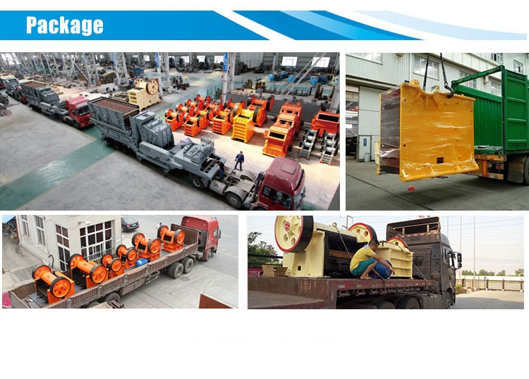 Package jaw crusher plant