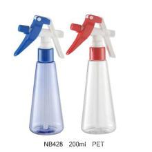 Botella del rociador del gatillo del animal doméstico 200ml para el jardín (NB422)