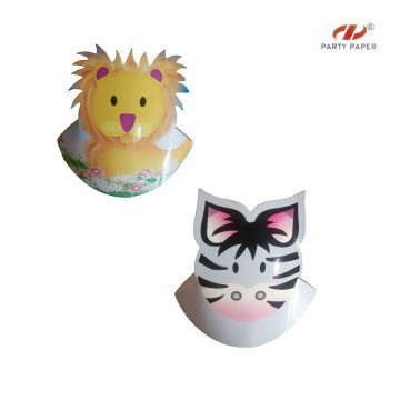 Decoration Paper Hats For Children With Custom Printed