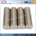 Small Thin Round Plate Disc Magnet for Sensor Magnet
