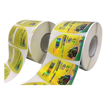 High quality custom wholesale adhesive stickers label