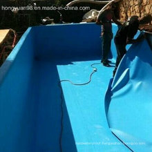 1.2mm/1.5mm/2.0mm Thickness PVC Waterproof Membrane for Roof/Basement/Pool/Pond