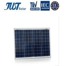 Panneaux solaires du rendement élevé 50W avec du CE, certificats de TUV