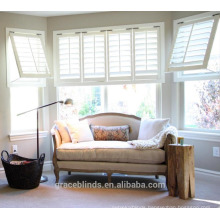 2017 Popular Good Quality Good Prices Double Hinged Small Plantation Shutters