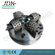 4t Diamond Bush Hammer Wheel for Stone Grinding