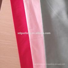 100% Algodão Tingido Dobby Stripe Camisa Masculina Tecido Liso / Sateen Stripe / Jacquard / Cetim / Tecido Hotel