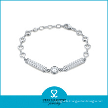 Competitive Price Whosale Silver Bracelet
