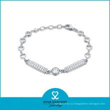 Новый дизайн 925 серебро Браслет для День Святого Валентина