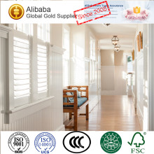 New Product with Best Quality of Low Price Custom Tag White Coated Top Roman Plantation shutter