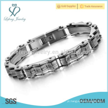 Pulseiras baratas, pulseira de onda, pulseira magnética de titânio impermeável
