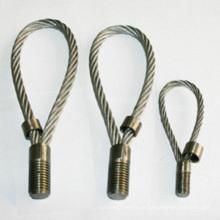 Bucles prefabricados de la cuerda de alambre de la elevación concreta para el hardware de la construcción