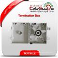 Caixa terminal da fibra óptica passiva de Csp62dw-9-a FTTH / quadro de distribuição de fibra óptica / ODF
