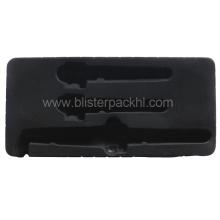 Black Flocking Blister para regalo (HL-078)