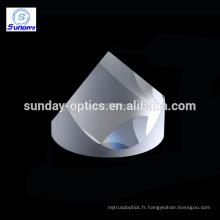 Précision N-BK7 Coin optique Cube Prism