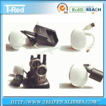 organizador superior del cable del auricular de los productos consumibles