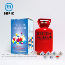 SEFIC small helium tank disposable helium tank