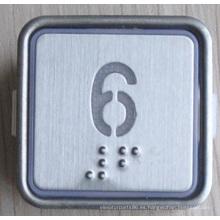 Botón de la parte-Braille del elevador (CN404)