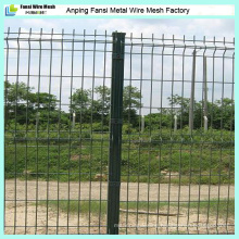 Nylofor 3D V-Shaped Bend Wire Mesh Fence Covered with Polymer